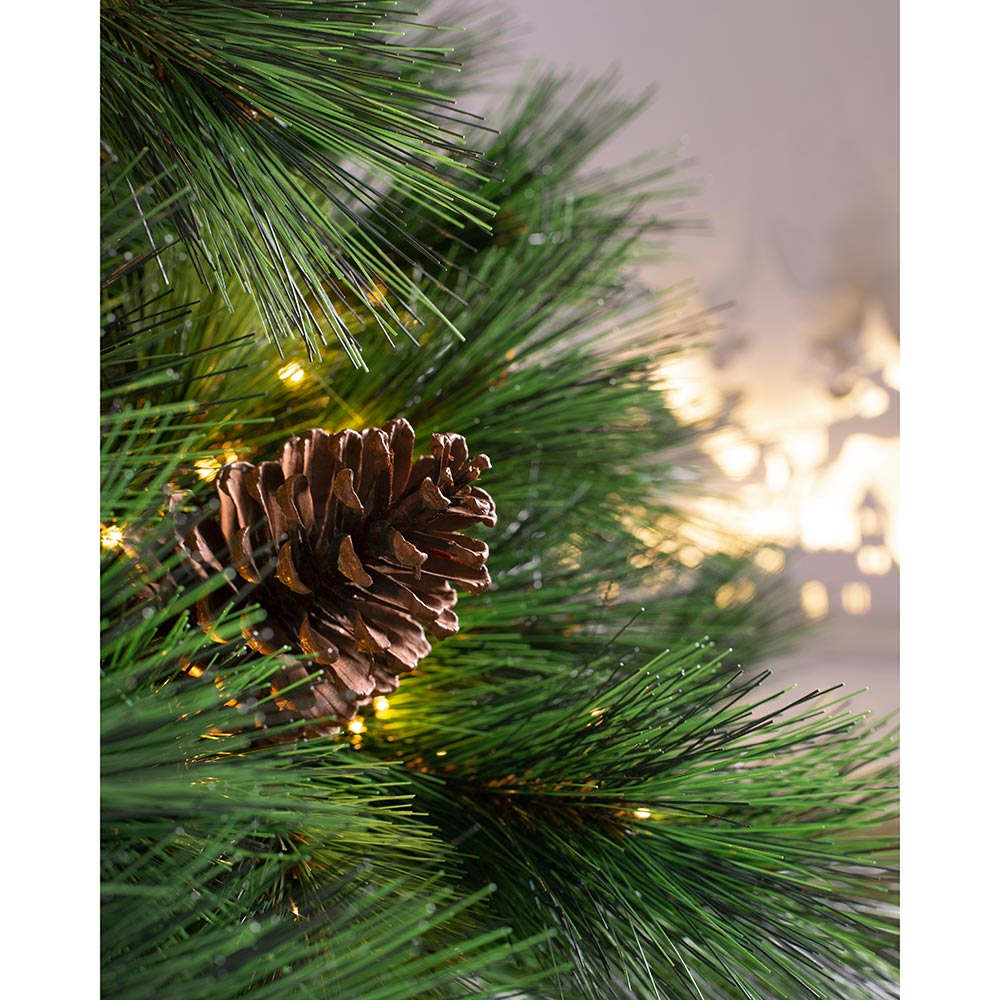 Pre-Lit  Portland Spruce Christmas Tree with LED Lights