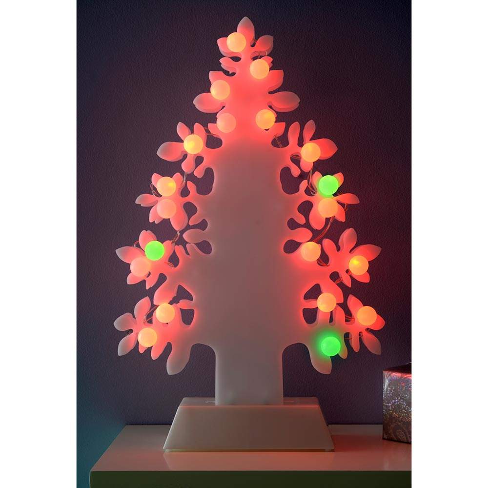 45 cm Christmas Tree Decoration with 20 LED Lights