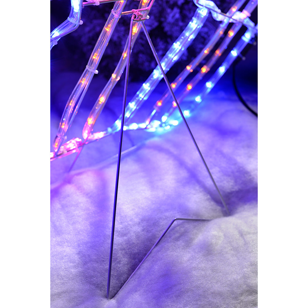 Pre-Lit LED Set of Presents Rope Light Silhouette, 99 cm - Multi-Colour