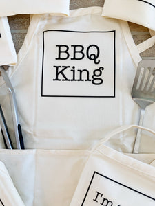 BBQ and Grilling Fathers Day Apron