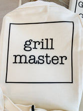 Load image into Gallery viewer, BBQ and Grilling Fathers Day Apron