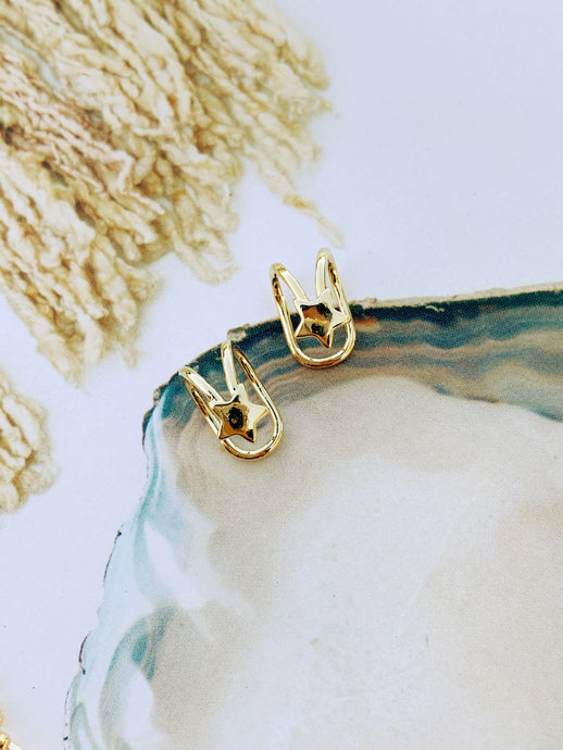 Star Ear Cuff - set of 2