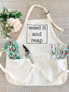 Weed it and Reap Apron