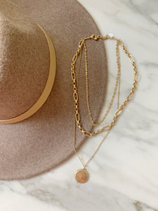 Rachel layered necklace