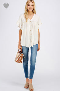 Not So Plain Jane top