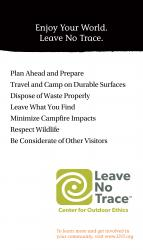 Leave No Trace Banner