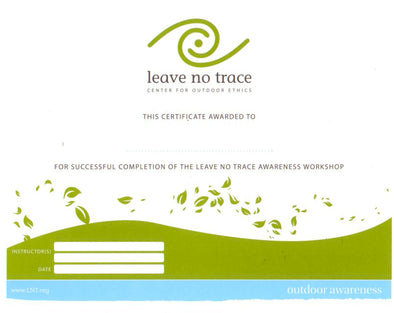 Awareness Workshop Certificate