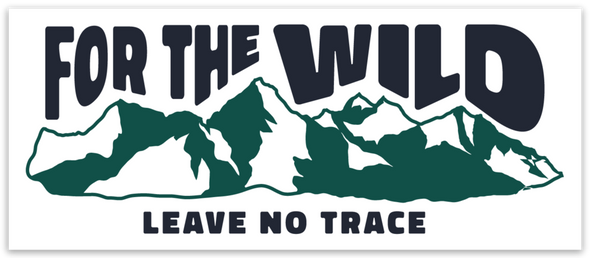 For The Wild Sticker