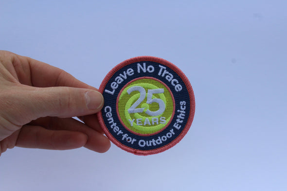 25th Anniversary Patch