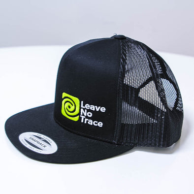Leave-No-Trace-Black-Snapback-Hat