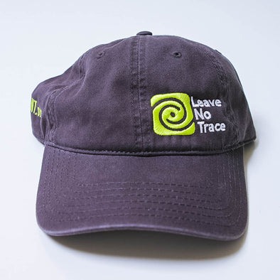 Leave-No-Trace-Charcoal-Baseball-Hat-Front