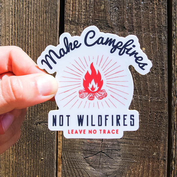 Make-Campfires-Not-Wildfires-Sticker