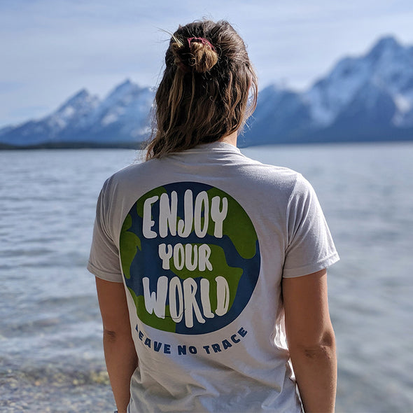 Enjoy-Your-World-Shirt-Female-Model