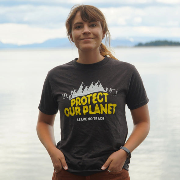 Protect-Our-Planet-Shirt-Female-Model