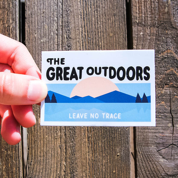 The-Great-Outdoors-Sticker