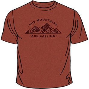 """The Mountains Are Calling"" Tee"
