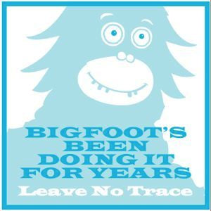 Bigfoot Sticker