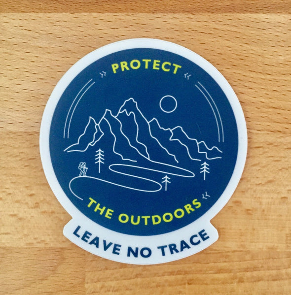 Protect The Outdoors Sticker