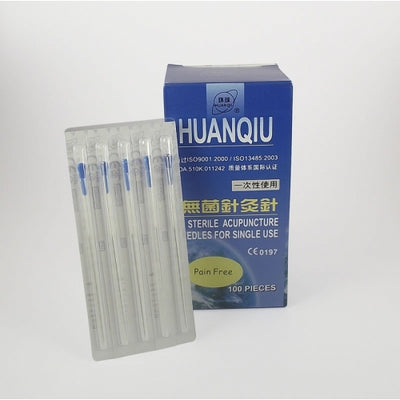 Acupuncture Needles Pain Free with Guide Tube (0.22 - 0.30 Range)