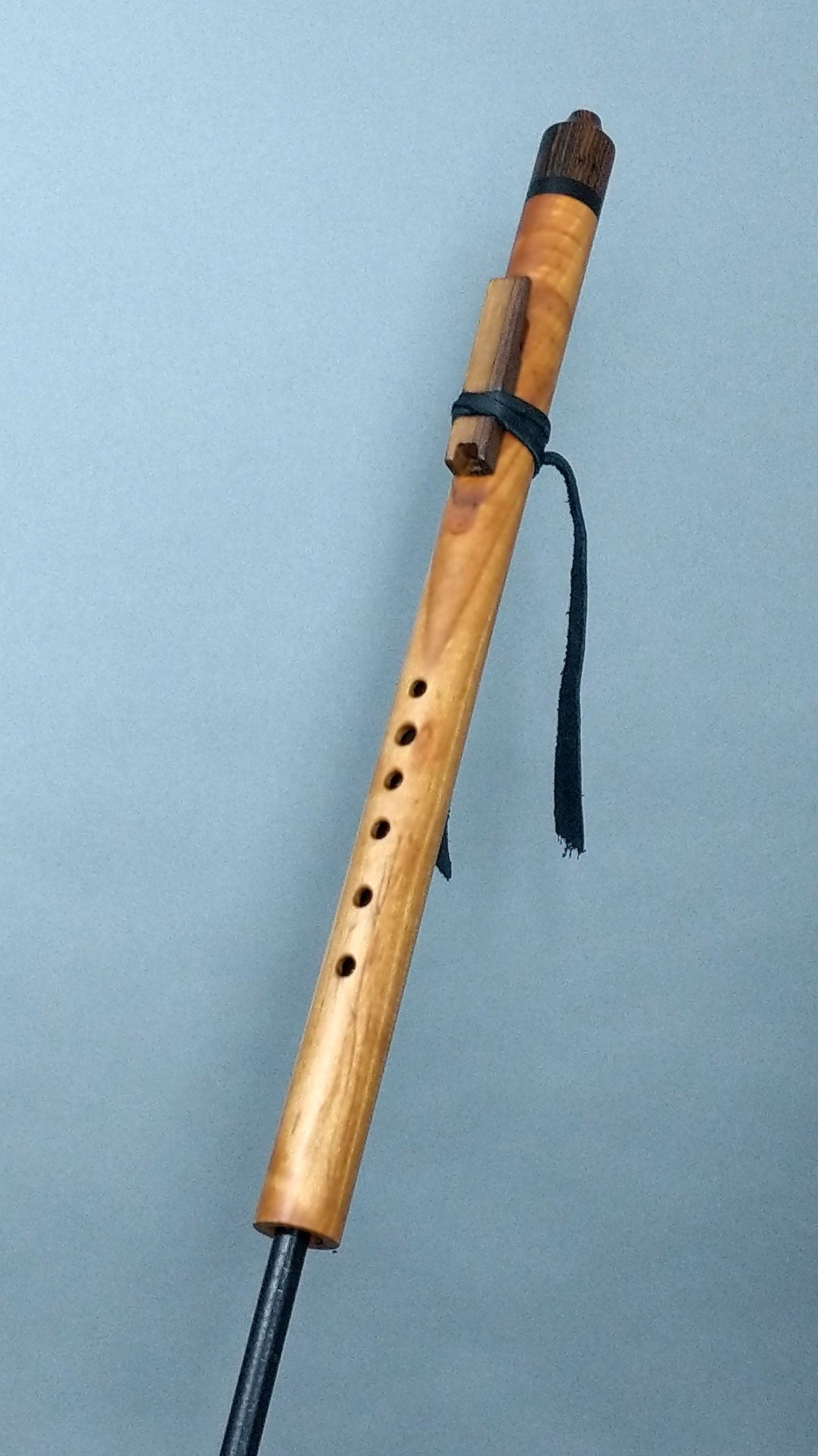 High D5 Curly Maple Native American Style Flute (NS242)