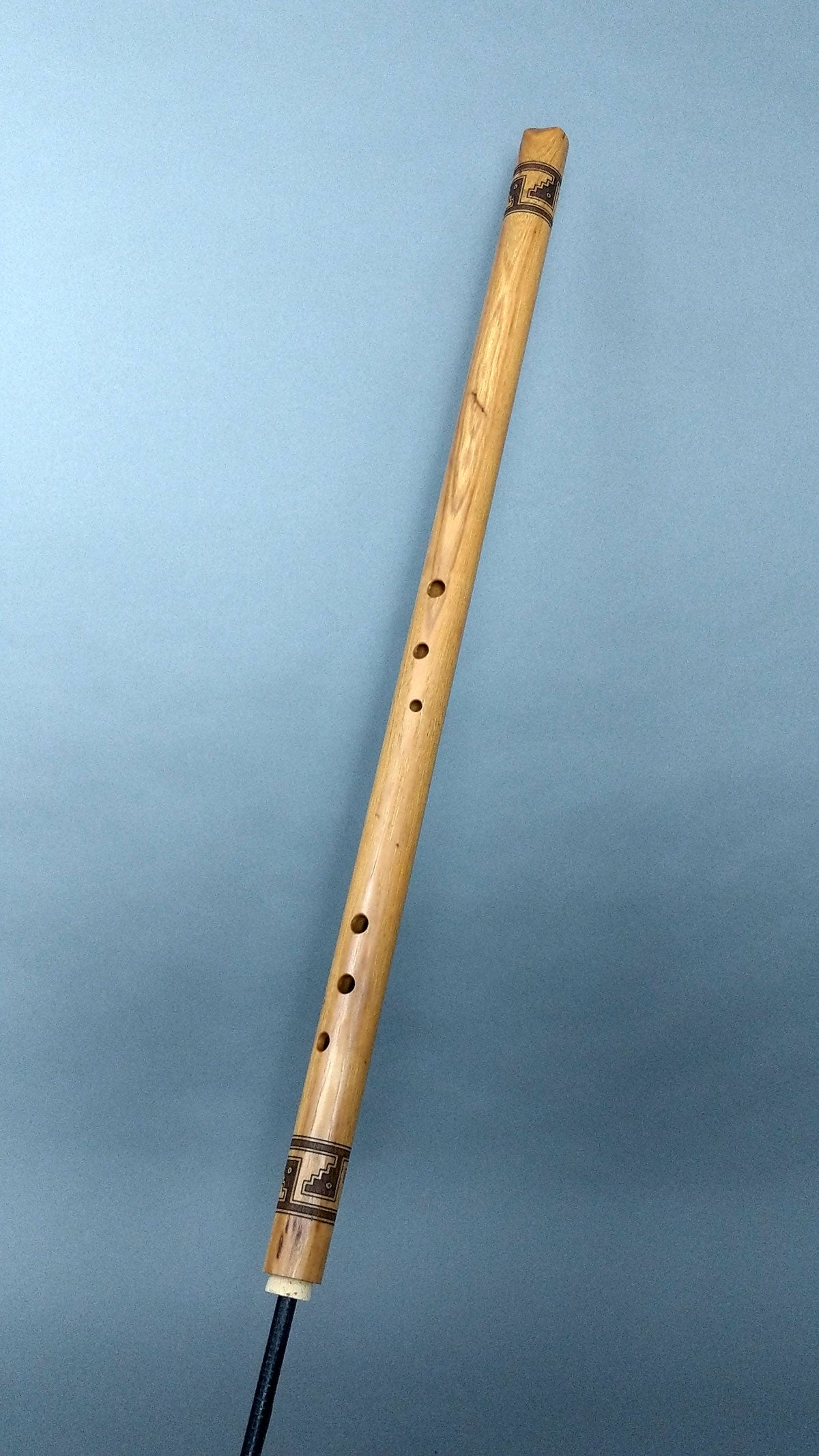 Bass A3 Hickory Basketmaker Rim Blown Flute (RB206)