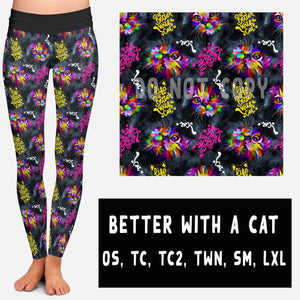 BETTER WITH A CAT LEGGING/JOGGER