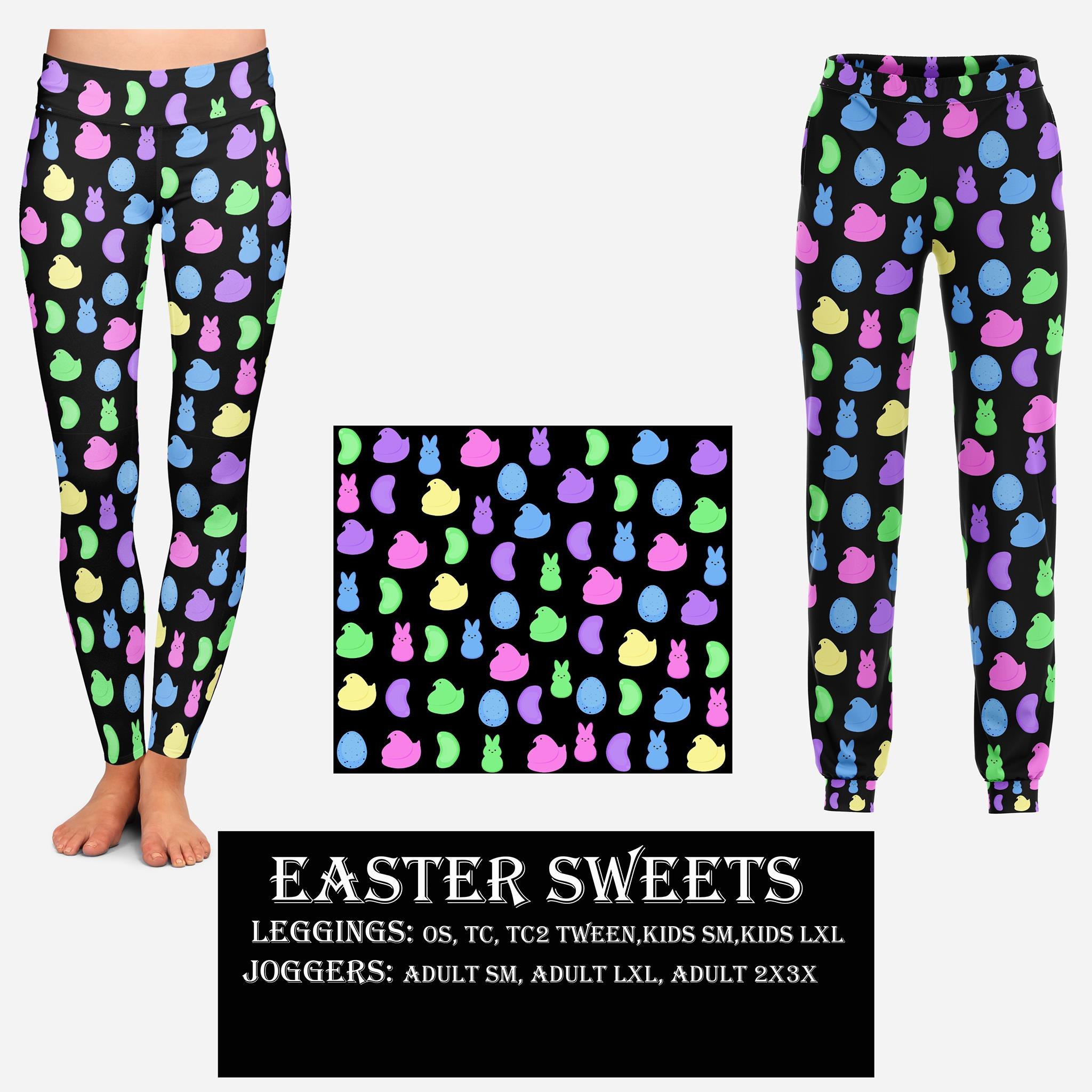 EASTER RUN- EASTER SWEETS LEGGINGS AND JOGGERS
