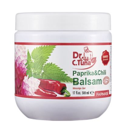 SAMPLE: Paprika & Chili Balsam Gel (FREE SHIPPING)