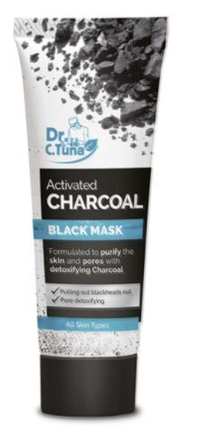 Activated Charcoal Black Mask (Travel Size)