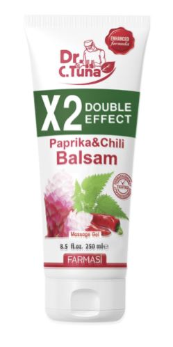 SAMPLE: Paprika & Chili Balsam Double Effect (FREE SHIPPING)