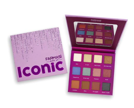 Iconic Eyeshadow Palette(12 Shades)