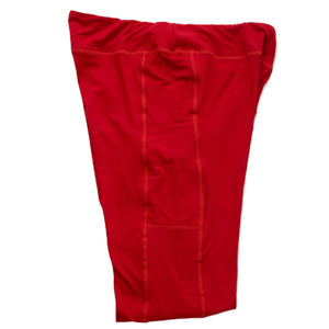 Magic Pocket Legging - Red Full Length