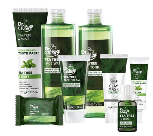 Tea Tree Set (10% off discount with purchase-see details in description)