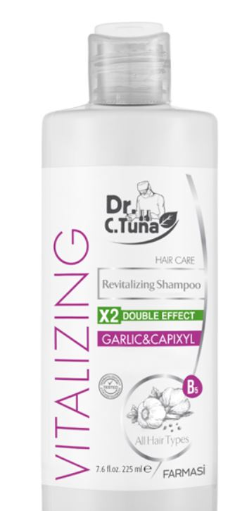 Vitalizing Garlic & Capixyl Shampoo (7.6 oz)