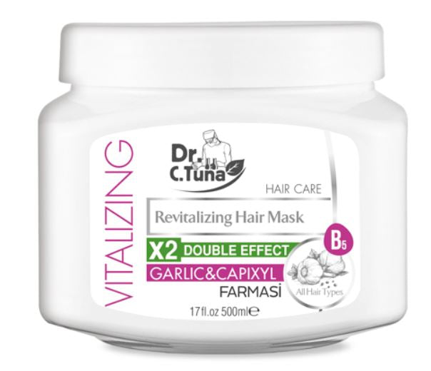 Vitalizing Hair Mask Garlic Extract-Large