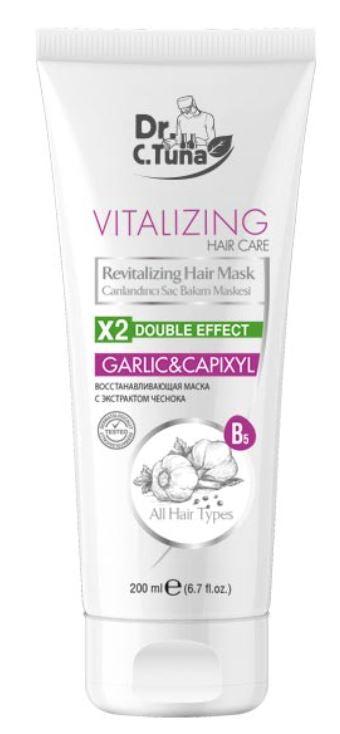 Vitalizing Garlic Hair Mask