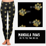 MANDALA PAWS LEGGINGS AND JOGGERS