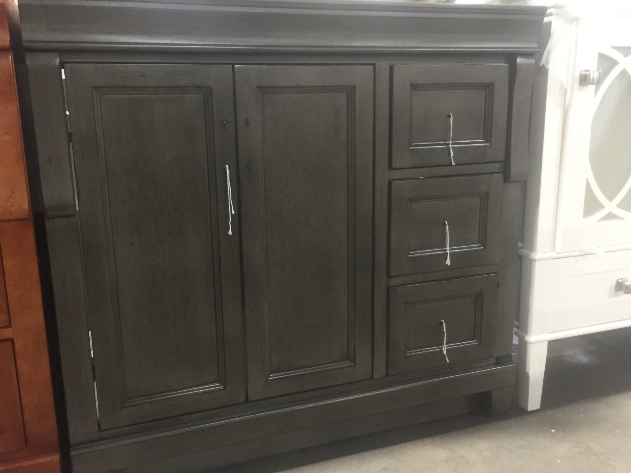 Home Decorators Collection Naples 36 In W Bath Vanity Cabinet Only In Bodega Liquidation