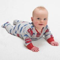Kite Clothing Unisex Beep Beep zippy sleepsuit 100% Organic Cotton