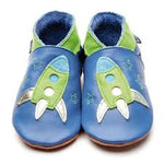 Inch blue soft blue/green leather shoe Zoom