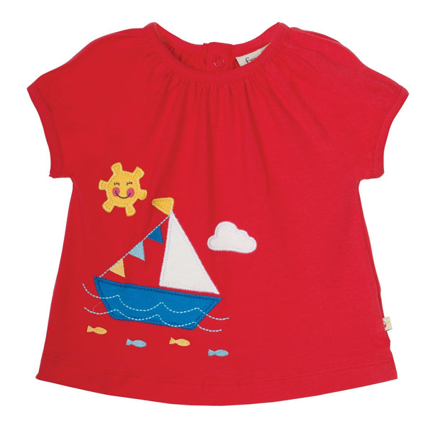 Frugi 2 piece Skort & tee shirt set 0-3 months Was £29.95 now £14.95