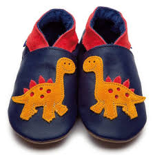 Inch blue soft navy leather shoe Dino