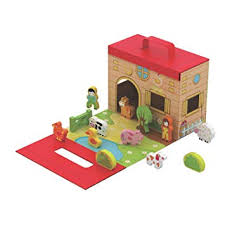 Jumini foldable Farmhouse in a box game 18 months +