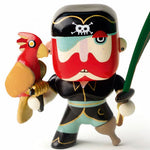 Djeco Arty Toys Pirate Sam Parrot figure age 4 years +