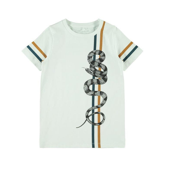 name it boys snake tee shirt age 5-6 y - 13-14 years