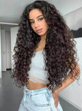 "INS HOT-SALE curly long WIG ""-180%(EXTRA THICK AS IN VIDEO)"