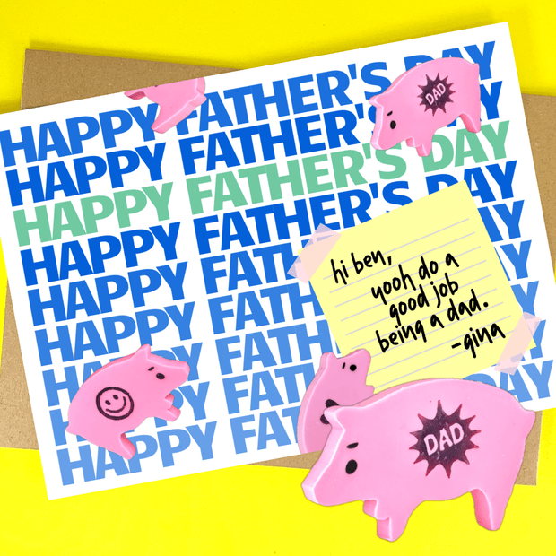 happy father's day (to any dad) age ham