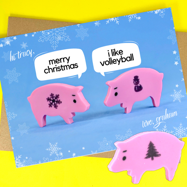 holiday conversation (3 versions available)