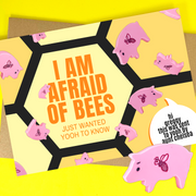 i am afraid of bees