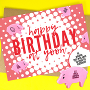 happy birthday at yooh (4 colors available)